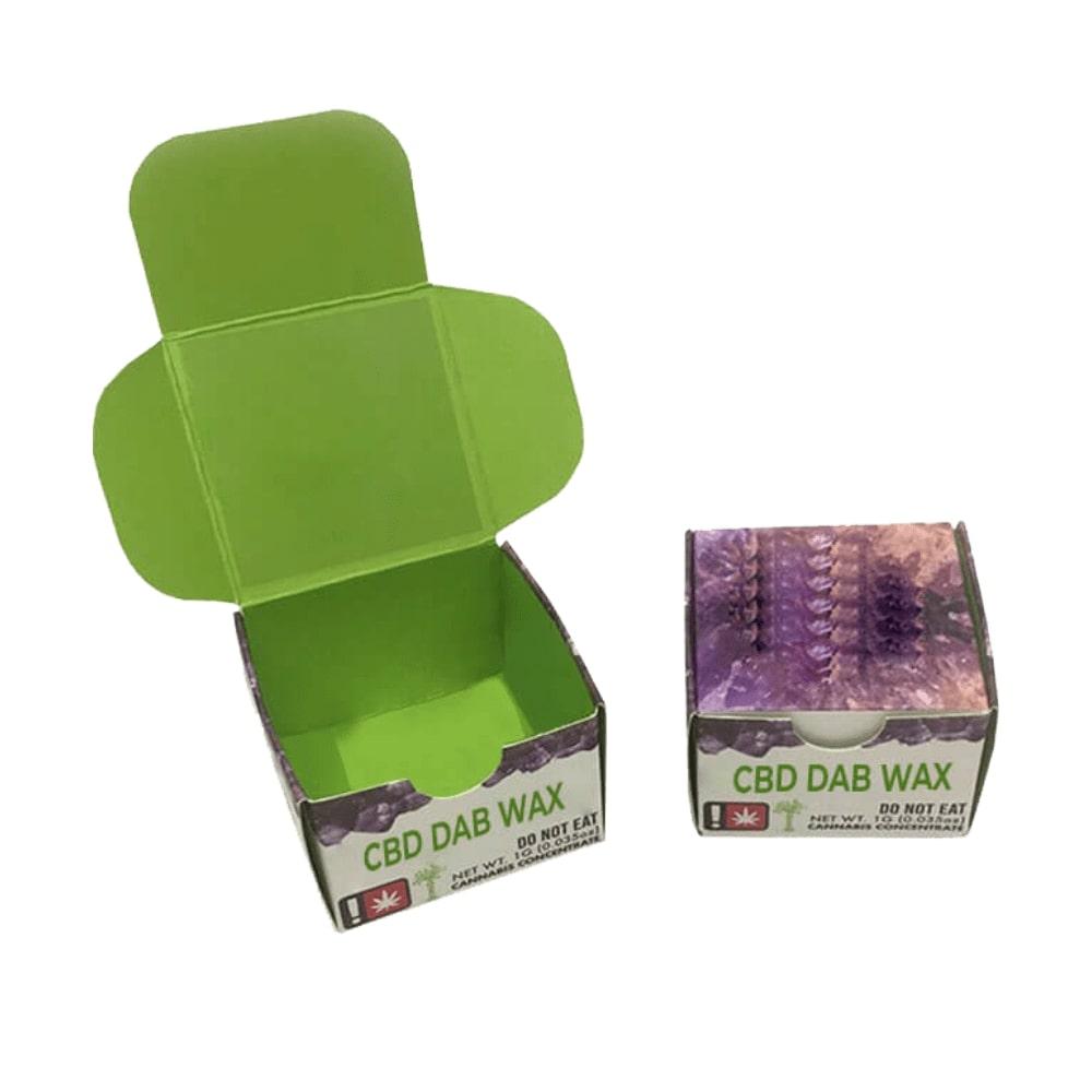 CBD Dab Wax Boxes, Get Custom CBD Packaging Wholesale