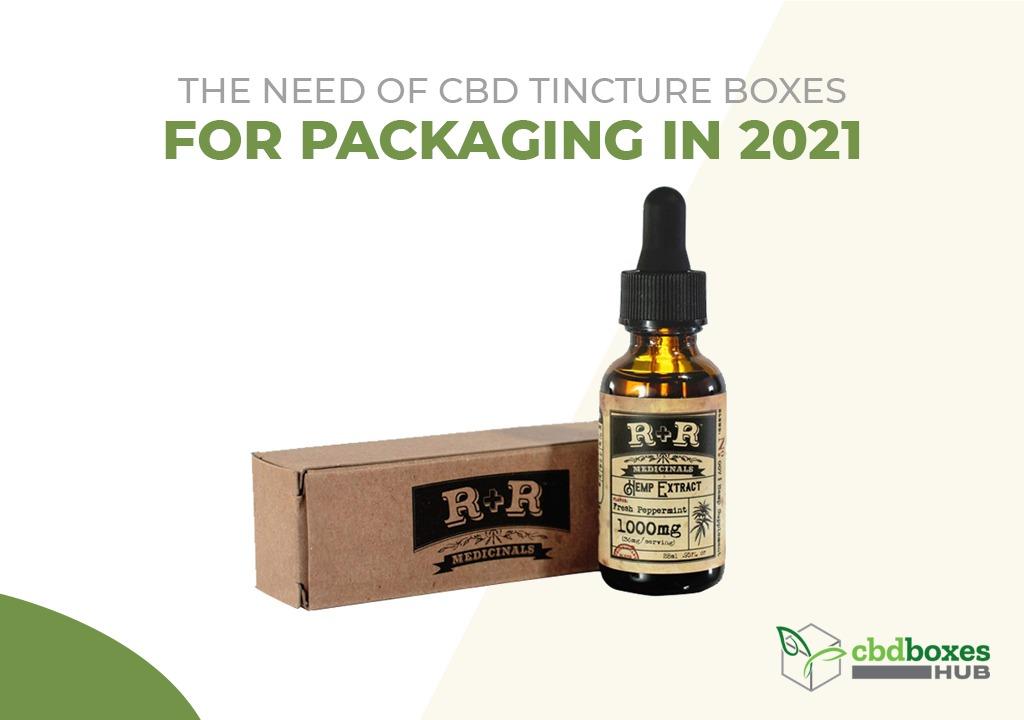 CBD tincture boxes